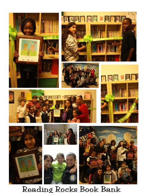 """Reading Rocks"" program at the Rexdale United Way Hub!"