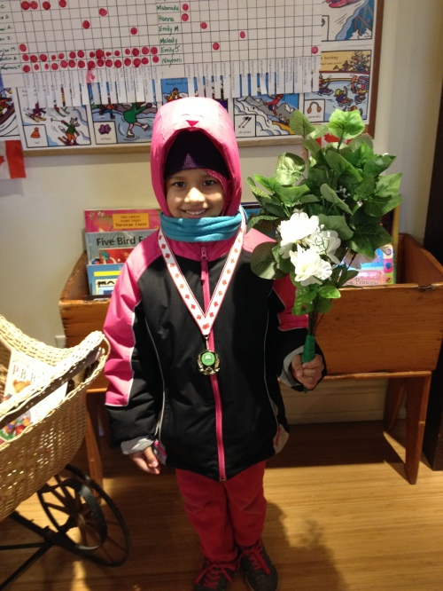 Olympic Gold Medalist Azma!