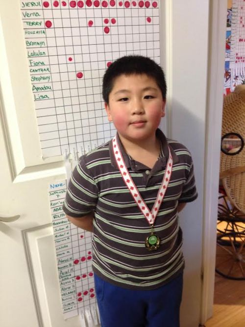 Olympic Gold Medalist Jierui!